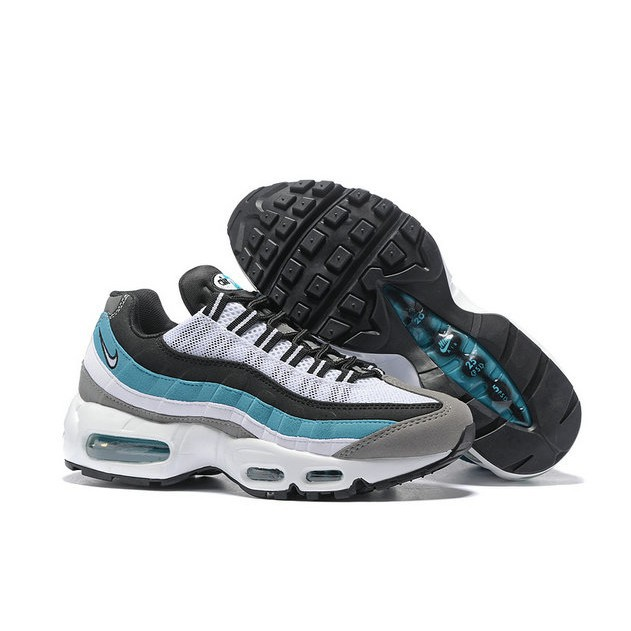 los angeles thoughts on sale Air Max 95 Womens White Grey Blue Black
