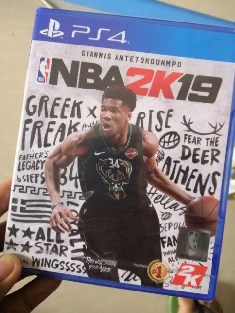 NBA 2K19 ps4 | Shopee Philippines