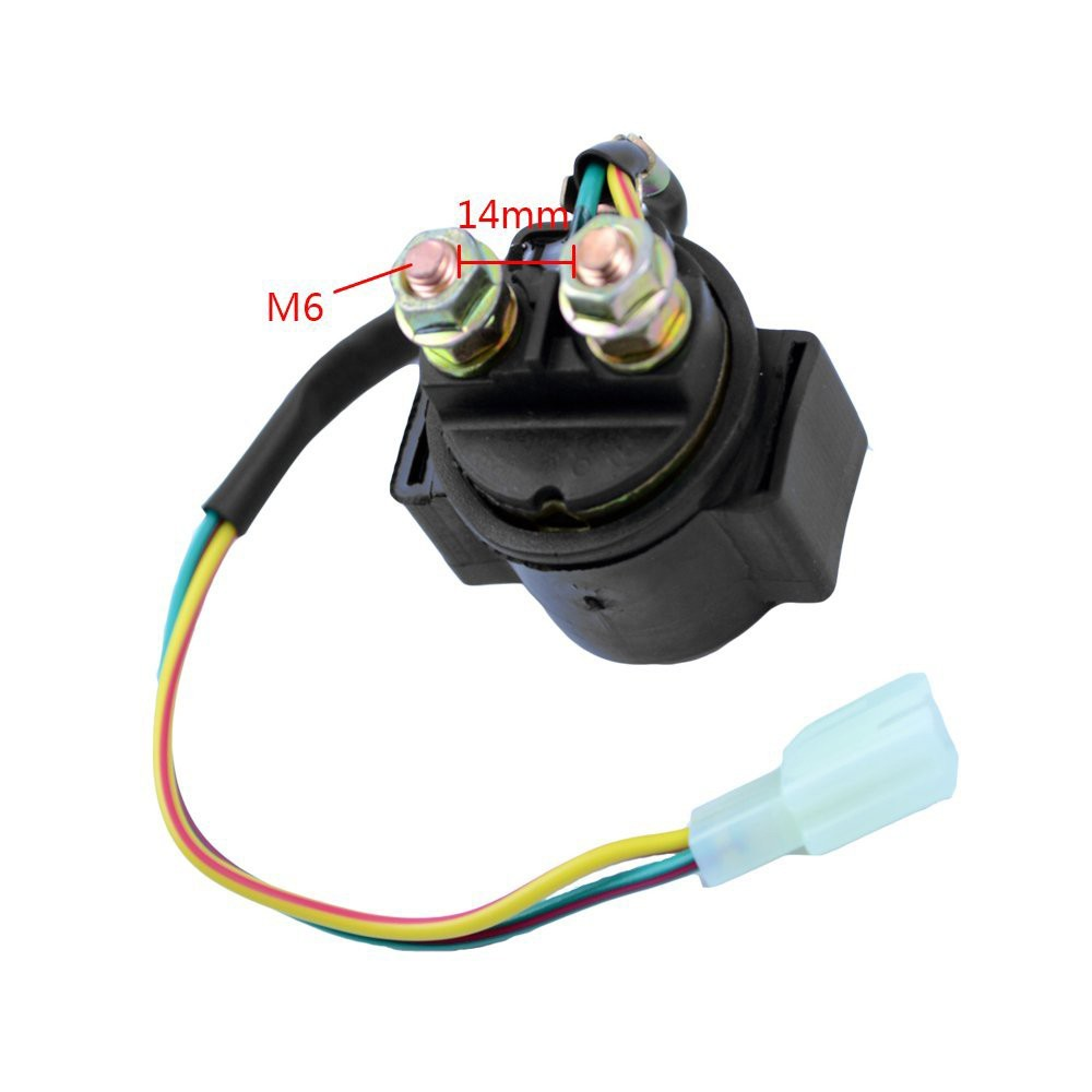 Motorcycle Starter Solenoid Relay Switch For Yamaha Shopee Philippines 1984 Ytm 225 Wiring
