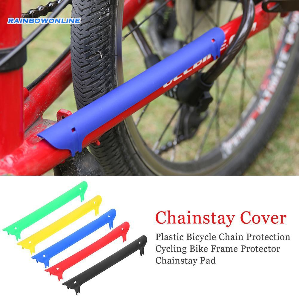 Bicycle Road Bike Frame Chain Guard Chain Stay Rear Fork Pad Protector Cover