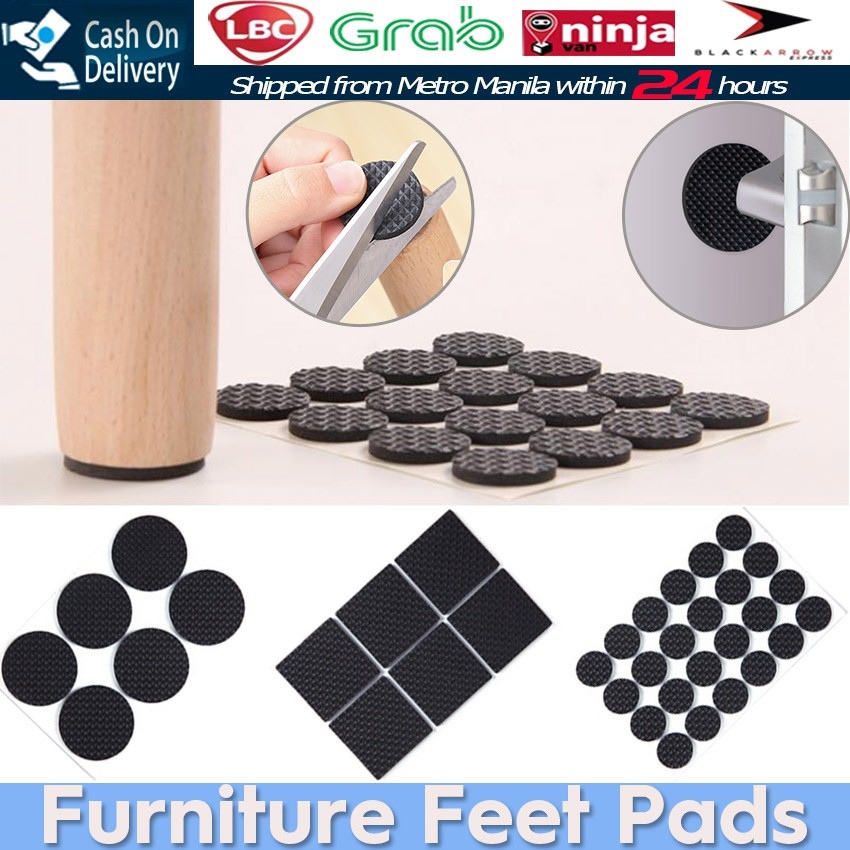 Non Slip Furniture Table Chair Feet Pad, Rubber Pads For Furniture Feet
