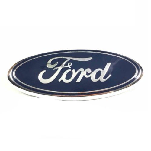 9Inch Blue FOR FORD F150 F250 Front Grille Tailgate Emblem Oval Badge Nameplate