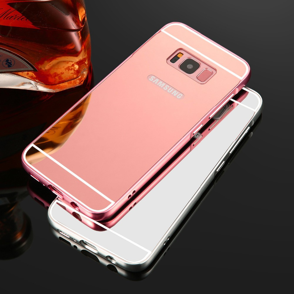 separation shoes 0a684 50468 Samsung Galaxy S8 S8 Plus Luxury Aluminum Mirror Case