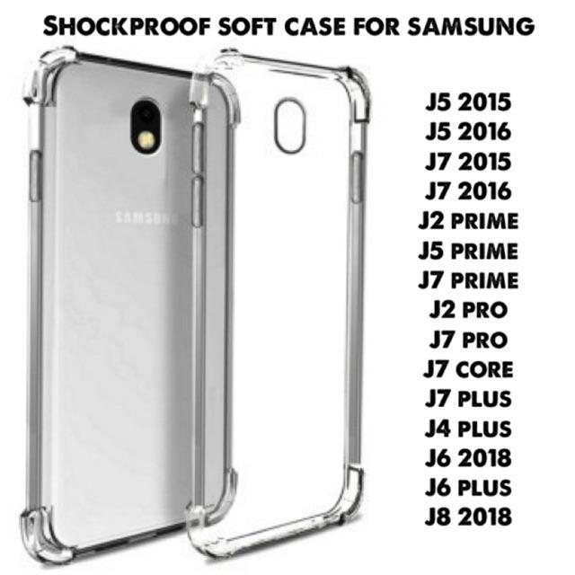 promo code 5382c 47039 Shockproof Soft Case for Samsung J2 J4 J5 J6 J7 J8 2015 2016 Prime Pro Core  Plus 2018