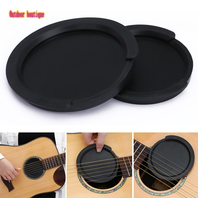 Ph 2pcs Silicone Guitar Sound Hole Cover Noise Reduction Sound Buffer Plug Universal Guitar Accesso Shopee Philippines