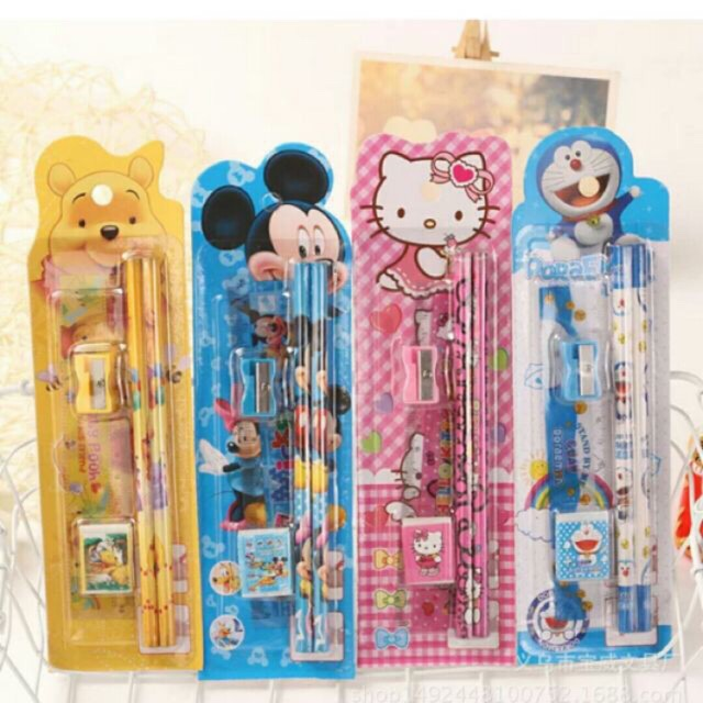5in1 stationary set/pencil set  COD!!!