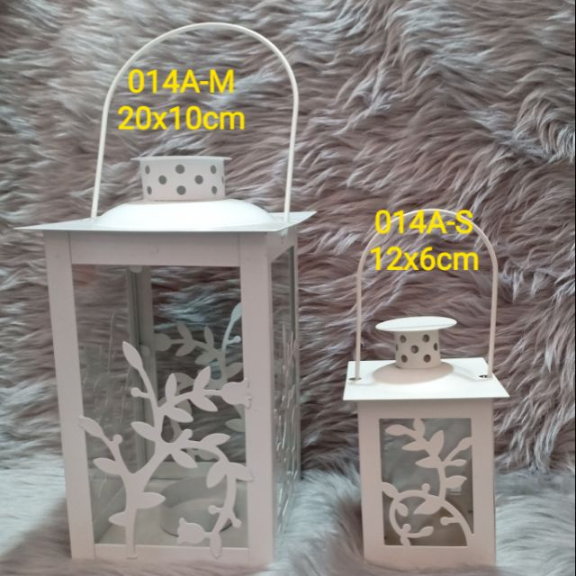 Candle Holder Metal with handle