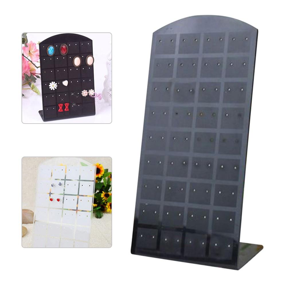 bf23e8e6c981 【COD】【NEW】24/48/72 Holes Plastic Earrings Organizer Holder