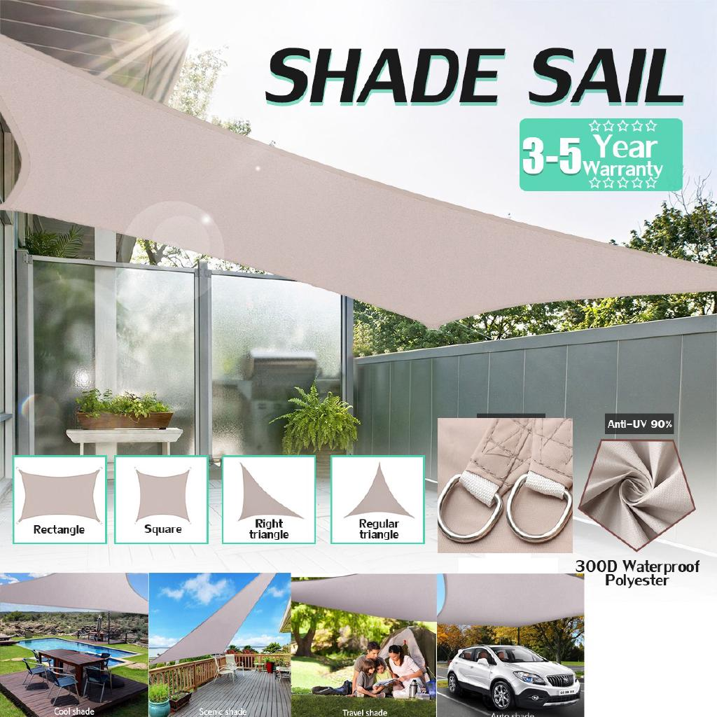 1ab78985f86a UV Block Sun Shade Sail Canopy for Patio Outdoor | Shopee Philippines