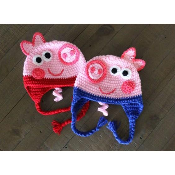 1bcf5c81e crochet hat(piglet) | Shopee Philippines