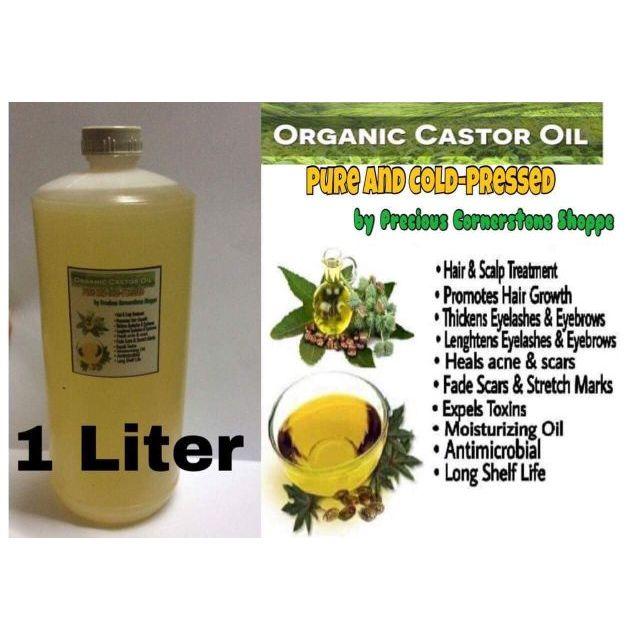 Castor Oil 1Liter(Cold Pressed) SUPER SALE!!