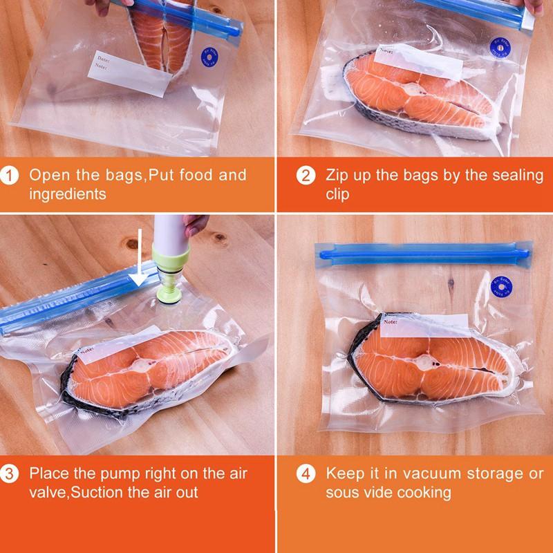 30 Reusable Vacuum Seal Bags For Anova
