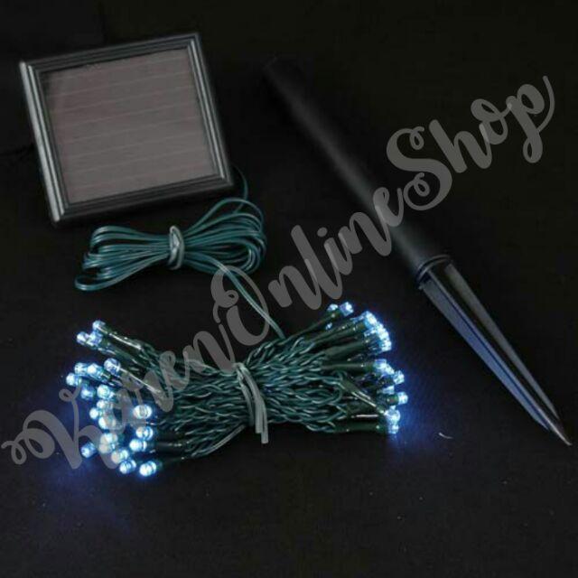 Solar Powered Christmas Lights.Solar Powered Christmas Lights