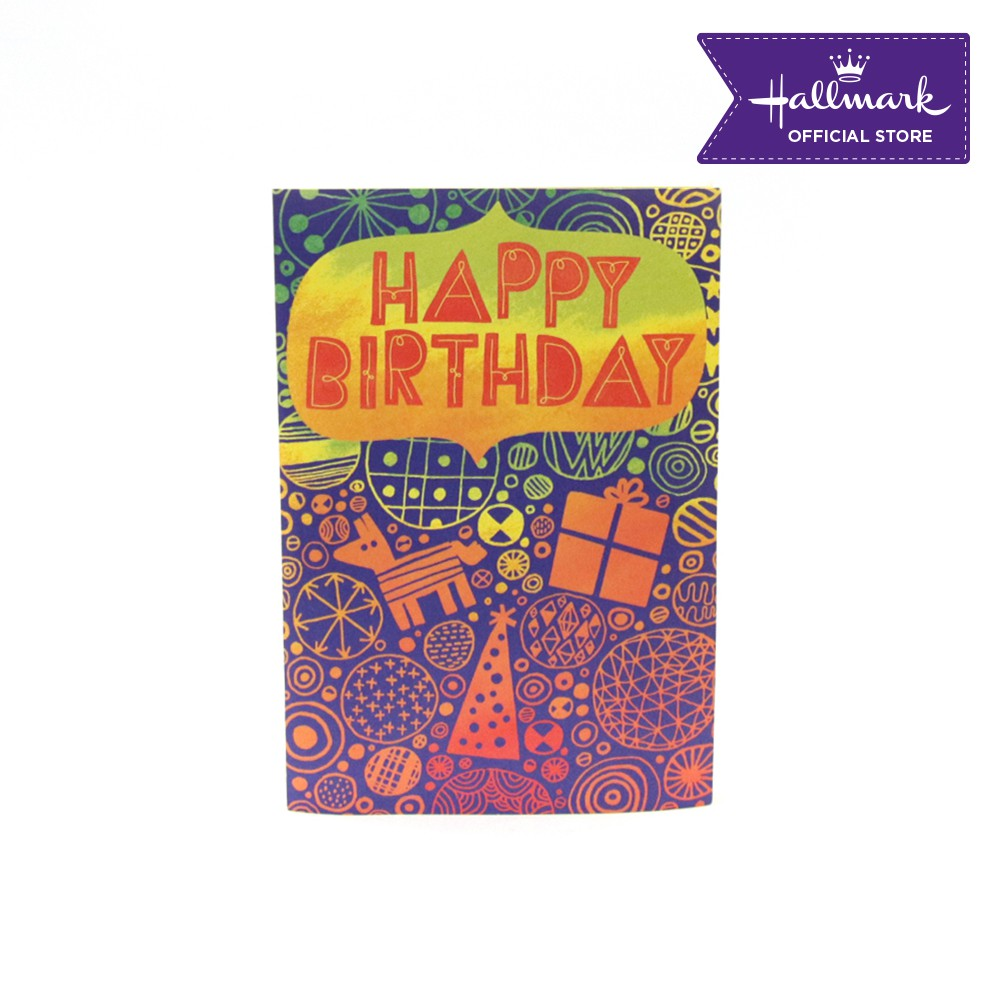 Peachy Hallmark Musical Birthday Card 1 Piece Happy Birthday Shopee Personalised Birthday Cards Cominlily Jamesorg