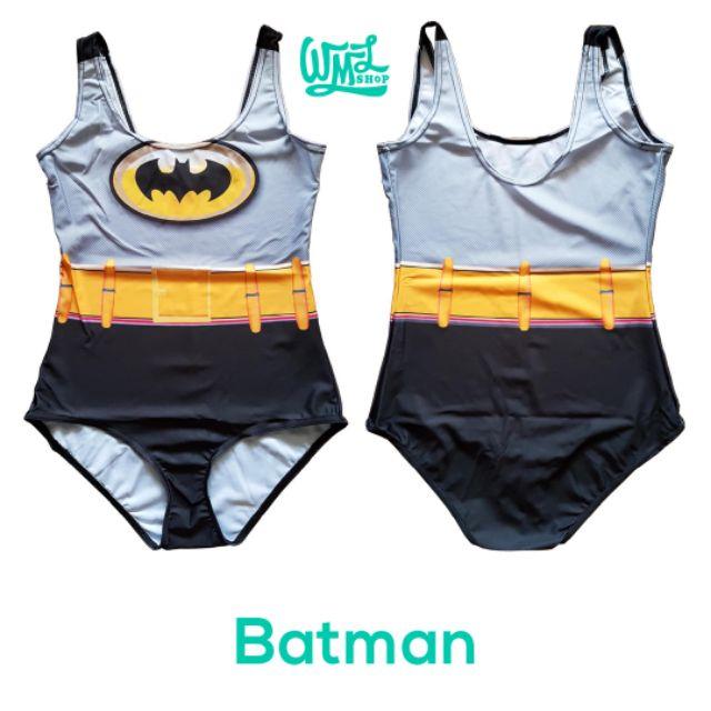 c9700bc373f Batman Superhero Swimsuit / Bodysuit / One-Piece Swimwear | Shopee  Philippines