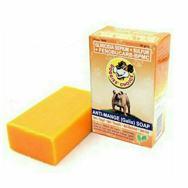 Doggies Choice Anti Galis Anti Mange Dog Soap 110g
