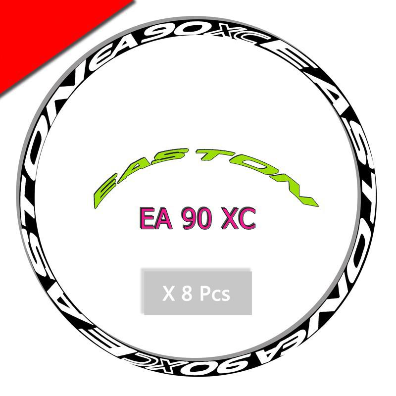 EA 90 XC mountain bike wheel Set rim Stickers for MTB Easton LE racing decals