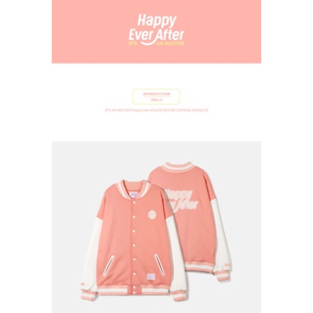 BTS BASEBALL JUMPER  Happy Ever After    Shopee Philippines 9dd8d7f5f8a6