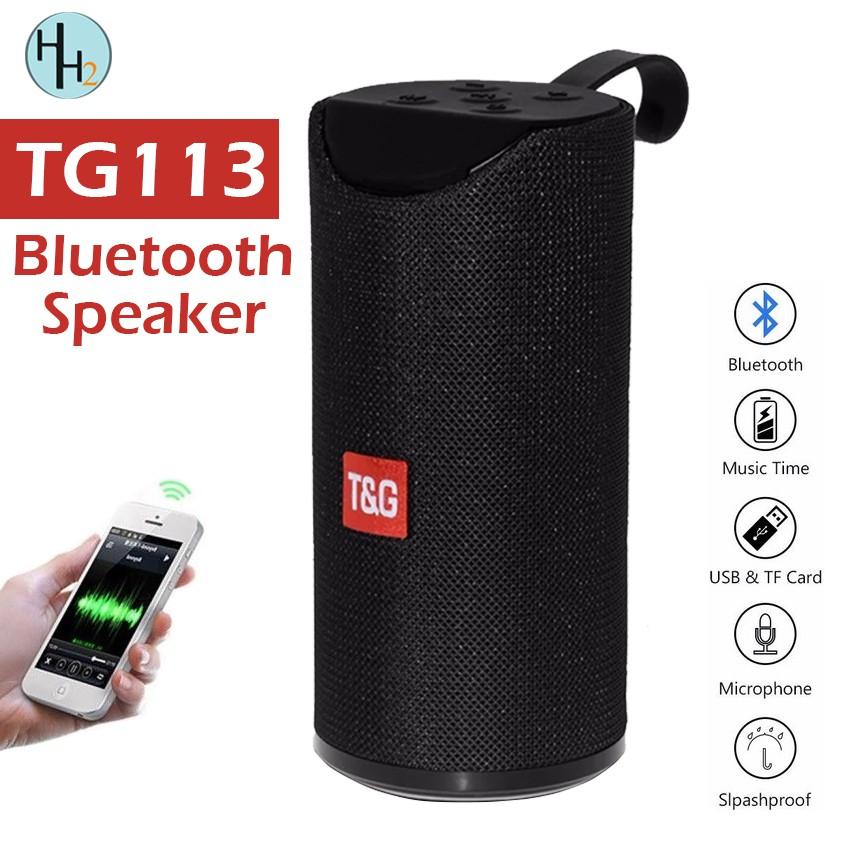 T&G TG113 Super Bass Splashproof Bluetooth Speaker