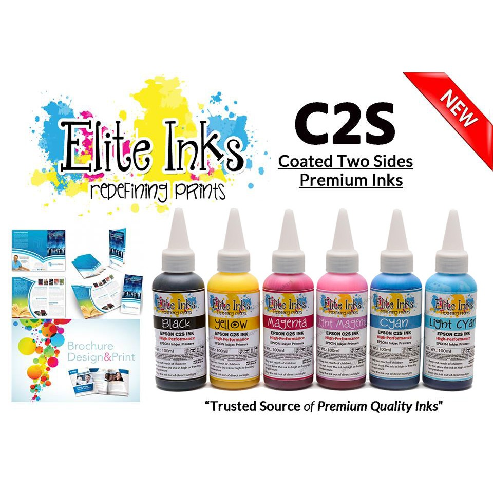 Epson Elite Premium Japan C2S Inks 100ml