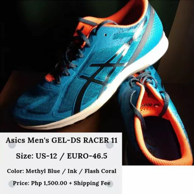 oscuridad Th Destreza  Asics Men's GEL-DS Racer 11 (Brand New) | Shopee Philippines