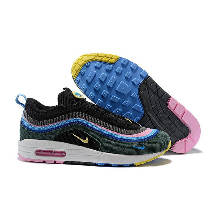 the best attitude 20b9d 5d514 Original NIKE Air Max 97/1 Sean Wotherspoon Running shoes Sneakers 2