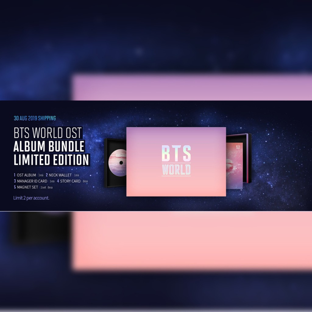 BTS OST LIMITED EDITION