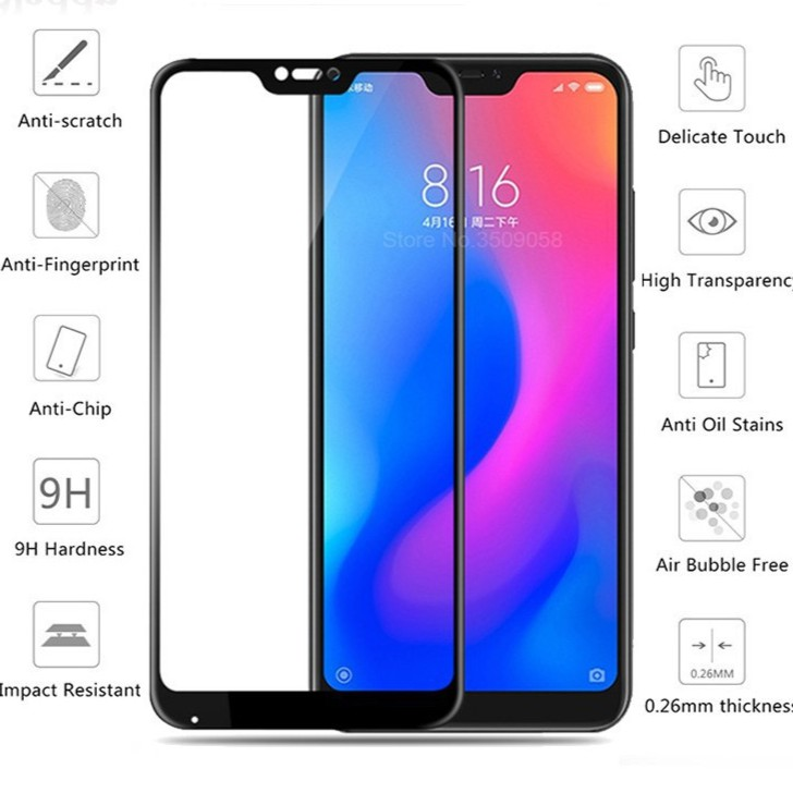 Redmi 5A 5 plus note 5 6A note 6 pro tempered glass 2 5D 9H