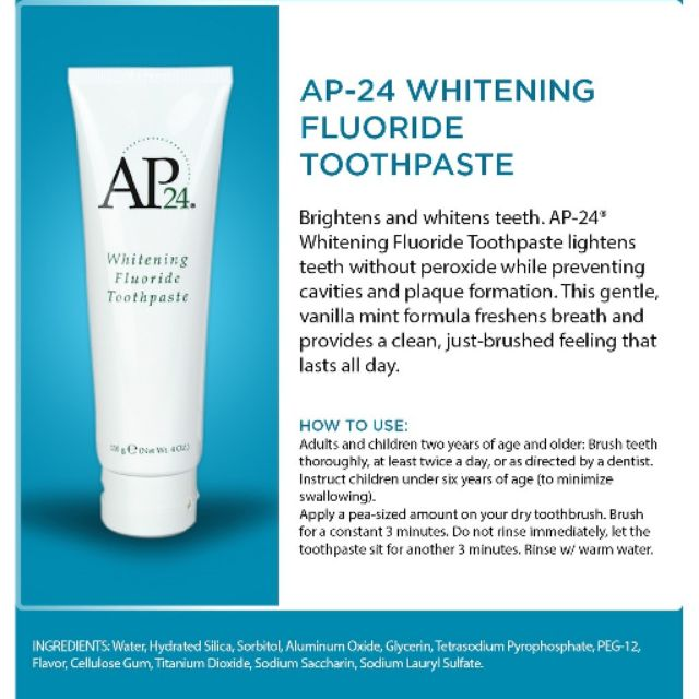 Toothpaste With Titanium Dioxide
