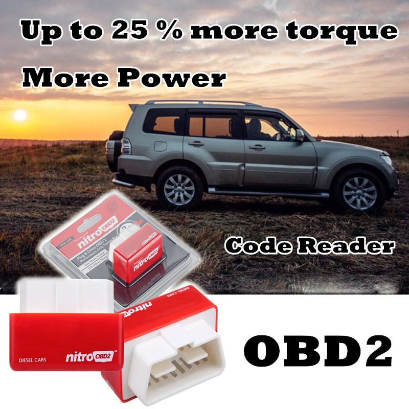 Car OBD2 Performance Chip Fuel Saver Tuning Box Interface Plug /&Drive For Diesel