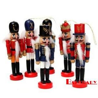 Phh 6pcs Wooden Soldier Nutcracker Puppet Decoration Shopee