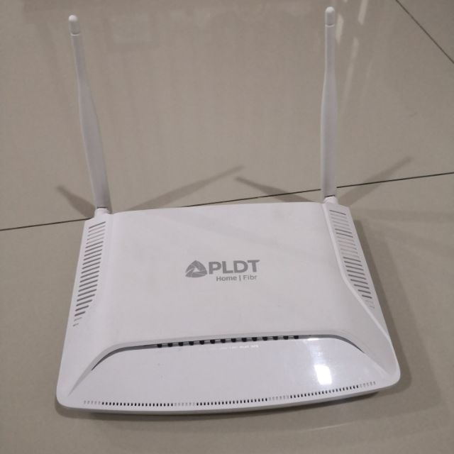 Pldt Router Dual Band Dsl Fibr Router Shopee Philippines