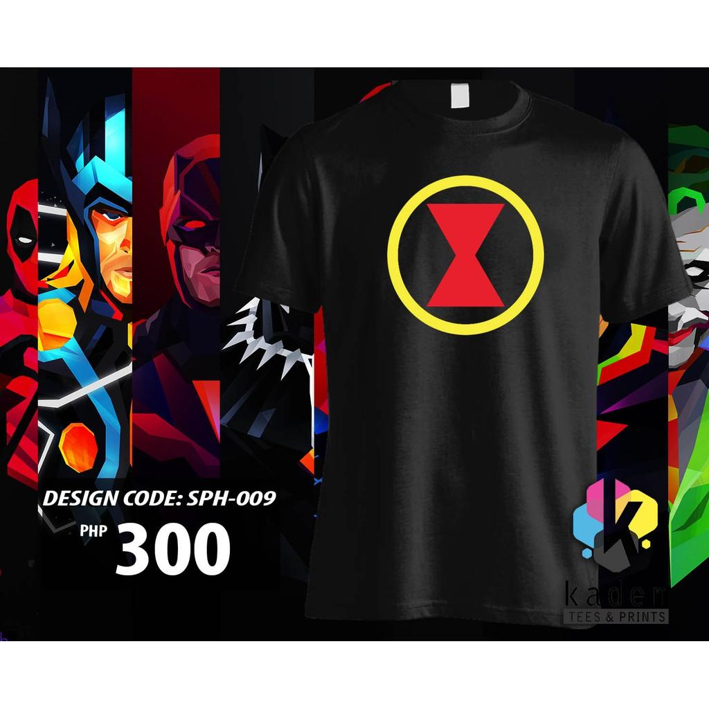 Black Widow Shirt Sph 009
