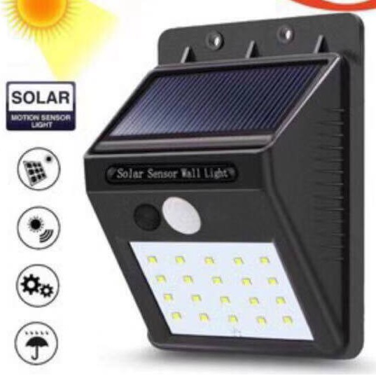 Led Light Solar Powered Led Wall Light Outdoor Light