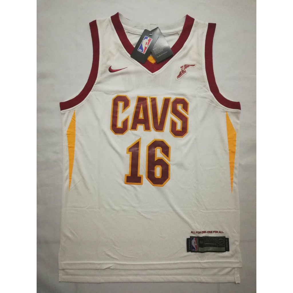 8a0e1e82b268 Nike NBA CAVS  16 Cedi Osman City Edition White
