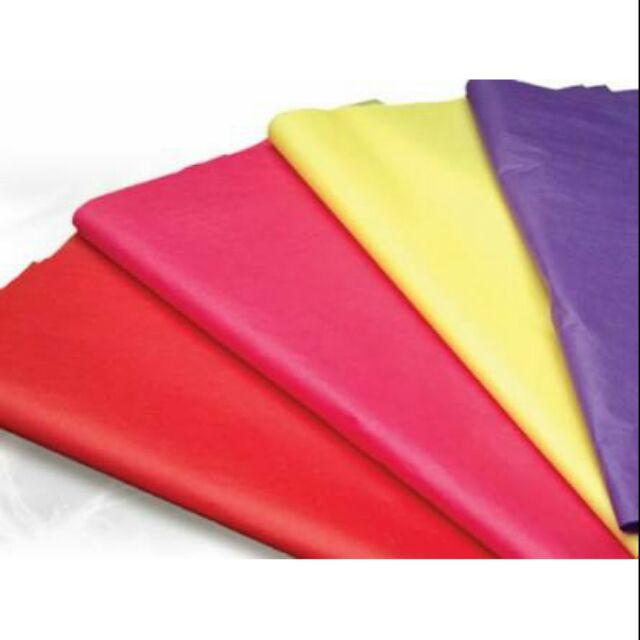 Quality Premium Grade Color Tissue Paper 24 Sheets Pack 20 x 30 Cerise Pink