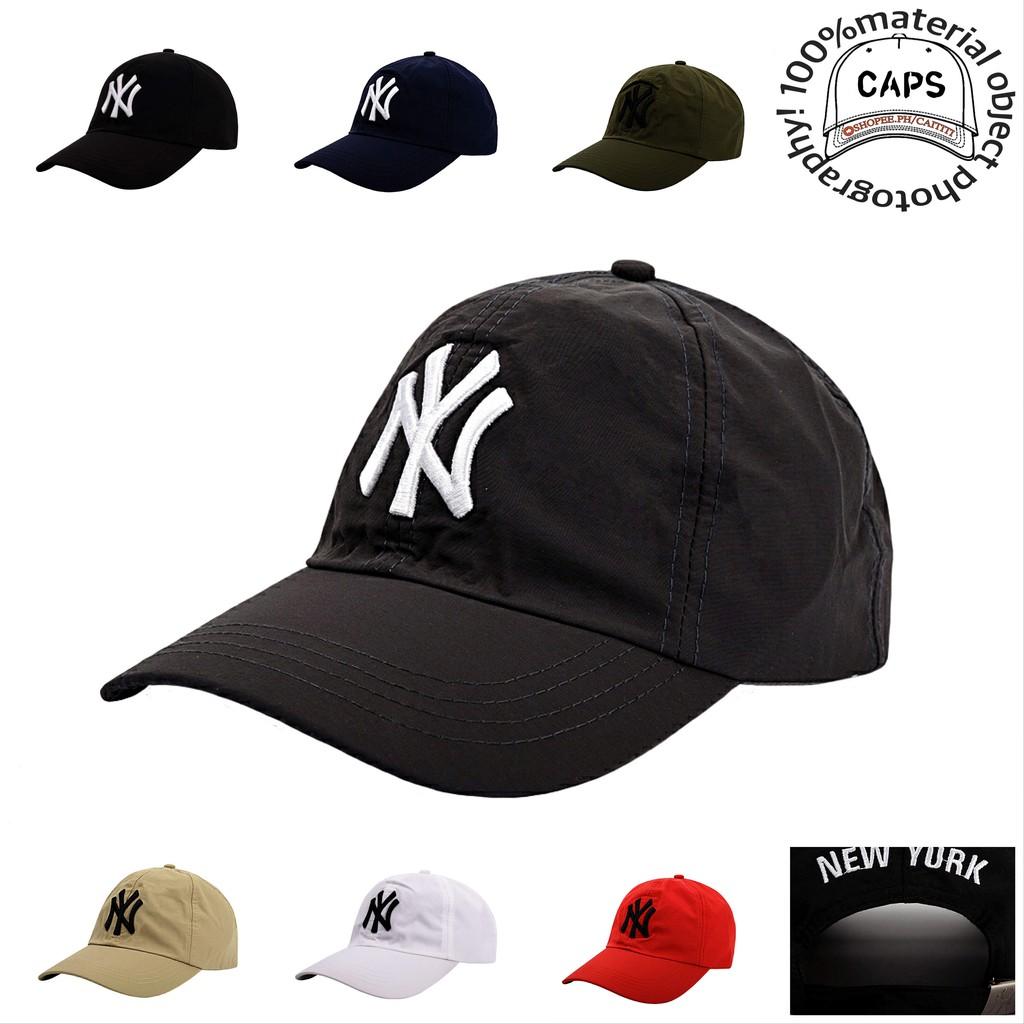 ed9260068d8 NY Cotton Baseball cap