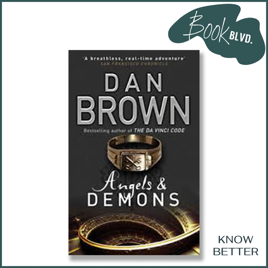Angels and Demons by Dan Brown   Brand New Books   Book Blvd ...