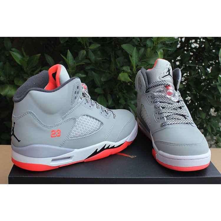 Lbjames Original Cod Nike Sports Shoes Air Jordan 5 Aj5 Women Men Lie Fallow Basketball Shoes
