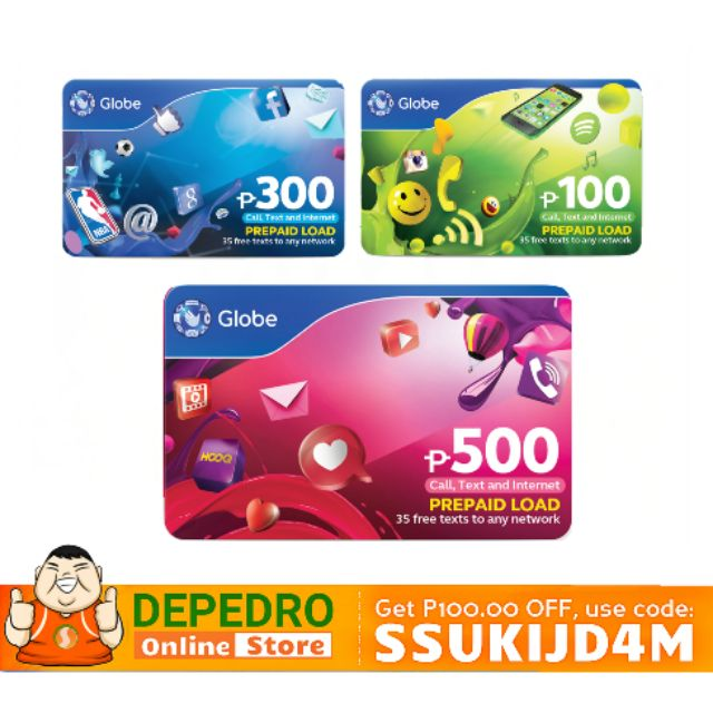 Globe Prepaid Load Card
