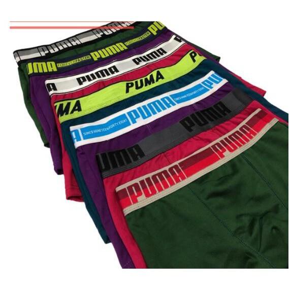 Fértil cadena interior  Puma Men's Boxer Brief Underwear | Shopee Philippines
