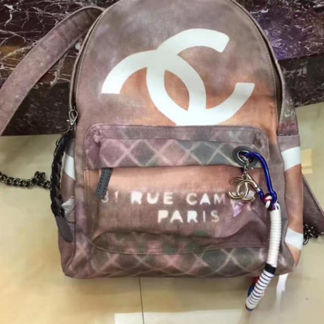 Chanel Graffiti Art School Runway Backpack Restock Shopee Philippines