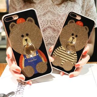 For Samsung Galaxy J2 J5 J7 Prime IMD Bear Soft Case Ring | Shopee Philippines