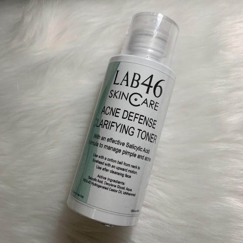 Lab 46 Lab46 Acne Defense Clarifying Toner Shopee Philippines