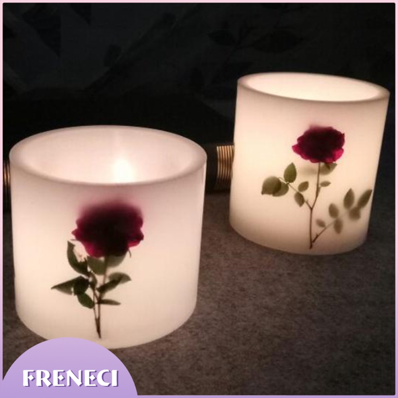 2x Hollow Cylinder Candle Making Mold Handmade Wedding Scented Candle Mold