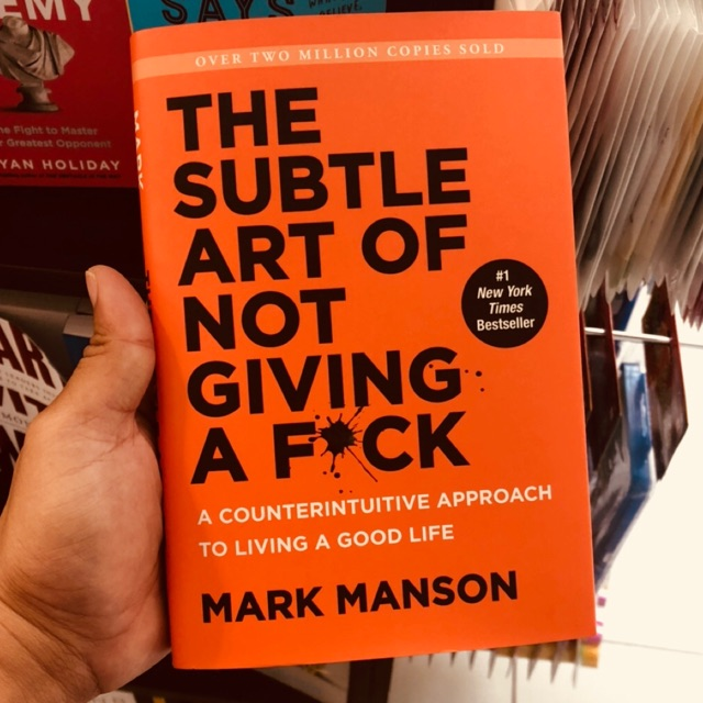 🔥🔥HOT READ🔥🔥The Subtle Art of Not Giving a F*ck