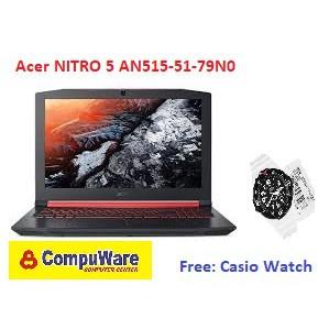 Acer NITRO 5 AN515-51-79N0 Black Intel Core i7-7700HQ 8GB 1TB Geforce  GTX1050 4GB 15 6