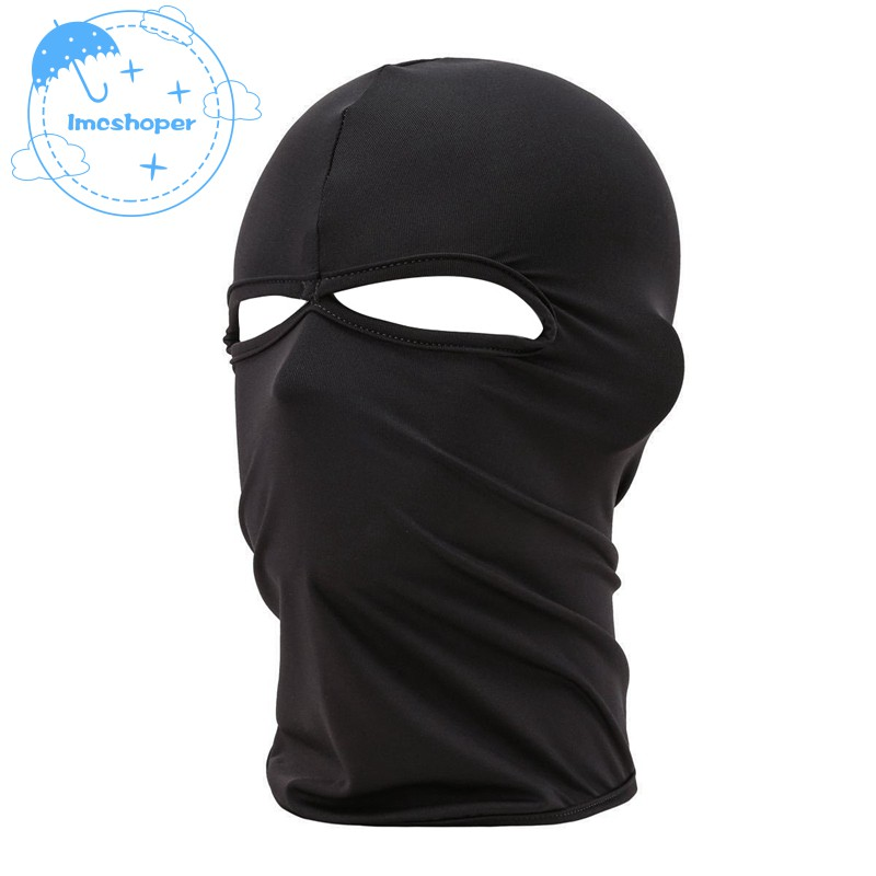 ec60219da632f Motorcycle Cycling Ski Outdoor Ghost Neck Hood Full Face Mask Skull  Balaclava