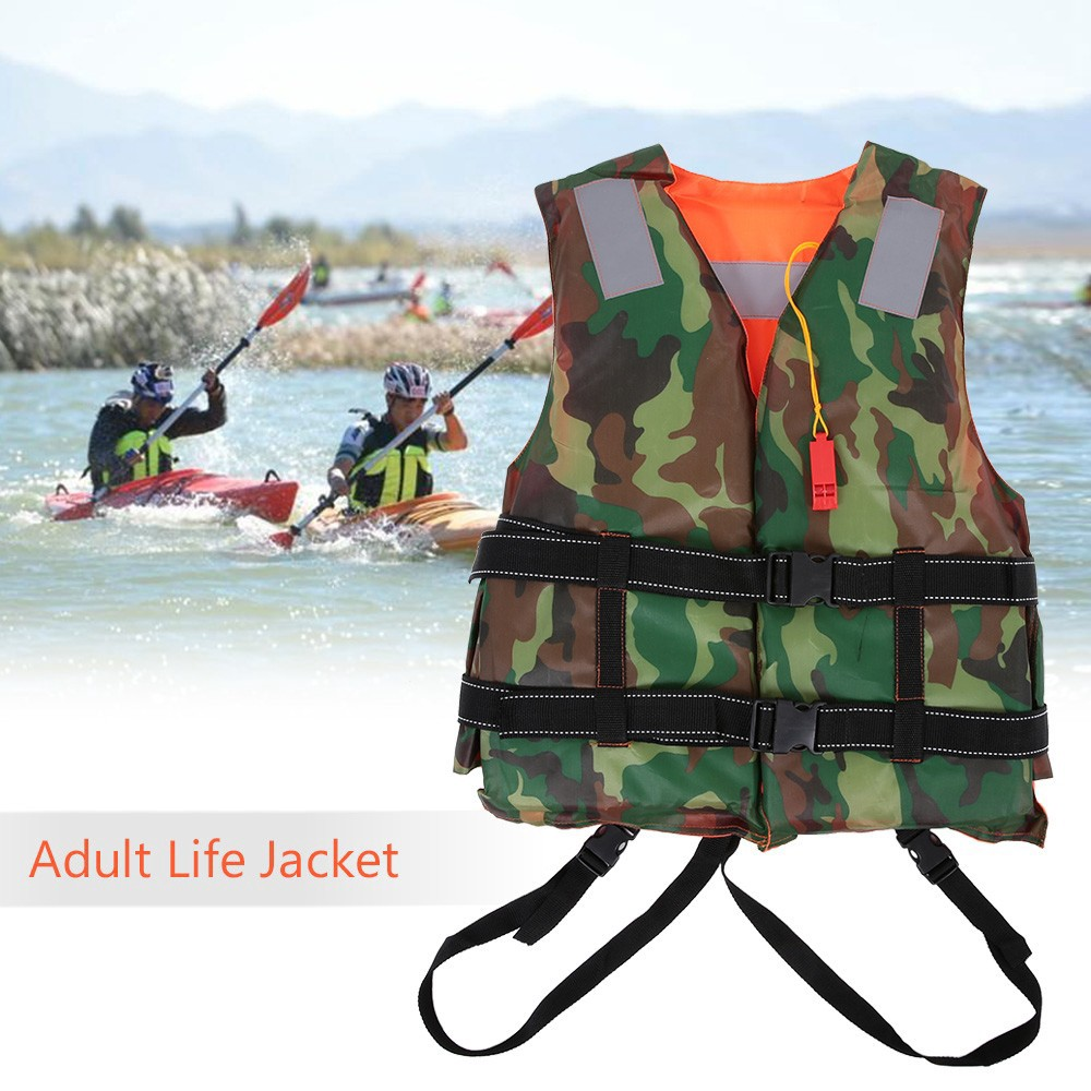 Safety & Survival Camping & Hiking Hearty Adult Lifesaving Life Jacket Buoyancy Aid Boating Surfing Work Vest Clothing Swimming Marine Life Jackets Safety Survival Suit The Latest Fashion