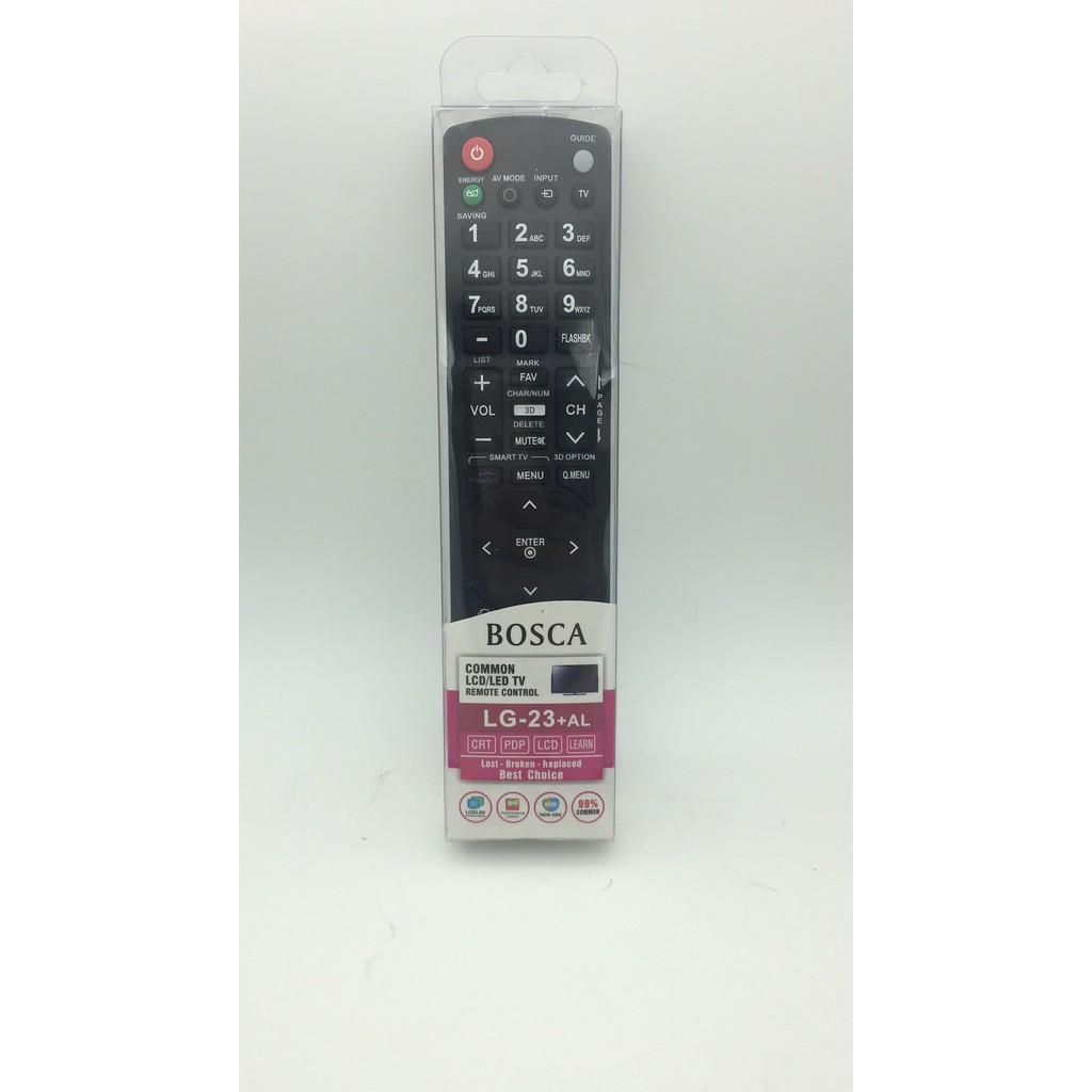 Bosca LG-23+AL Universal Common Remote Control for LCD LED